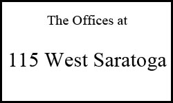 115 West Saratoga Logo