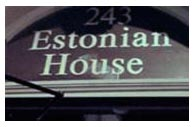 The Estonian House  Logo
