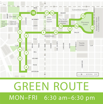 Greenlink Green Route Parking