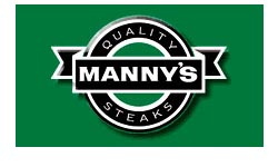 Manny's Steak House Logo