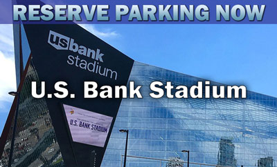 US Bank Stadium Parking Minnesota Parking Near US Bank - Parking map us bank stadium