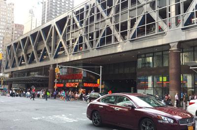 Port Authority Bus Terminal Parking Garages Manhattan