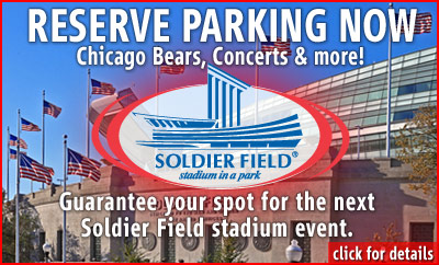 Soldier Field Parking Buy Discount Chicago Parking With Sp