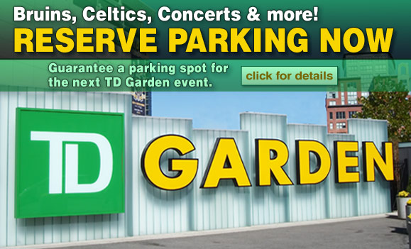 Boston Garden Parking